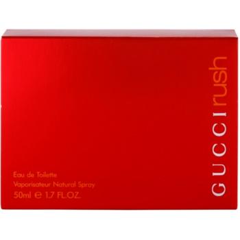 Gucci Rush eau de toilette pentru femei 50 ml