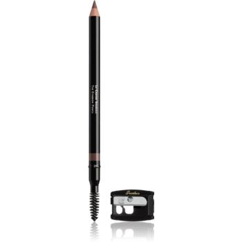 Guerlain The Eyebrow Pencil tužka na obočí s ořezávátkem odstín 01 Brun Ideal 1,08 g