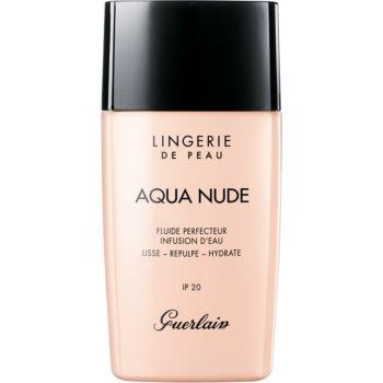 GUERLAIN Lingerie de Peau Aqua Nude Water-Infused Perfecting Fluid machiaj u?or de hidratare SPF 20 poza