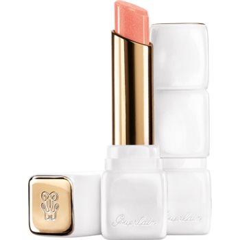 GUERLAIN KissKiss Roselip Hydrating & Plumping Tinted Lip Balm balsam de buze colorat cu efect de hidratare imagine