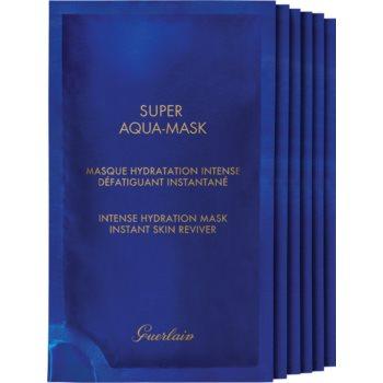 GUERLAIN Super Aqua Intense Hydration Mask mascã textilã hidratantã imagine produs