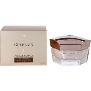 Guerlain Abeille Royale crema pentru gat si decolteu pentru regenerare intensiva si fermitate 3