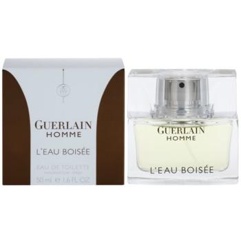 Guerlain Homme LEau Boisée Eau de Toilette pentru barbati 50 ml