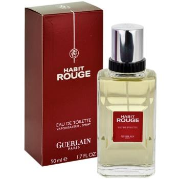 Guerlain Habit Rouge eau de toilette pentru barbati 50 ml