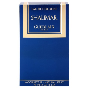 Guerlain Shalimar одеколон для жінок 4