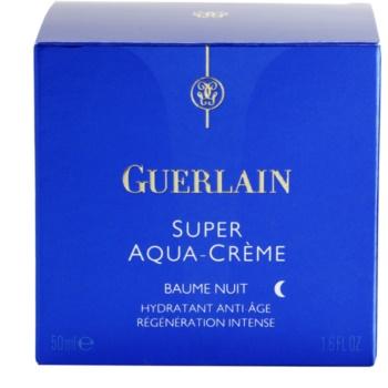 Guerlain Super Aqua нічний зволожуючий бальзам для відновлення шкіри 4