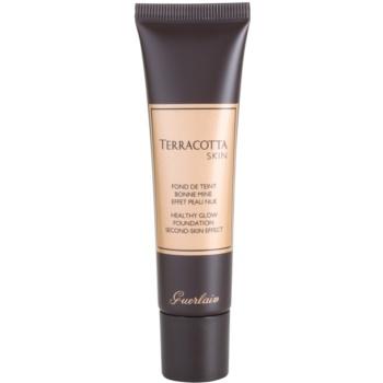 Fotografie Guerlain Terracotta Skin make-up pro přirozený vzhled odstín 02 Brunettes 30 ml