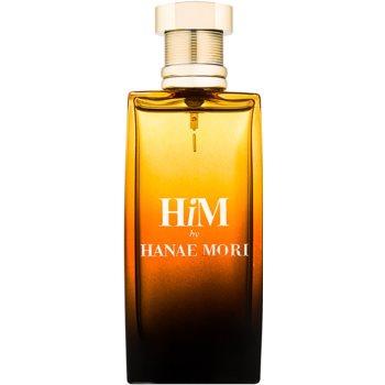 Hanae Mori HiM Eau de Toilette pentru barbati 50 ml