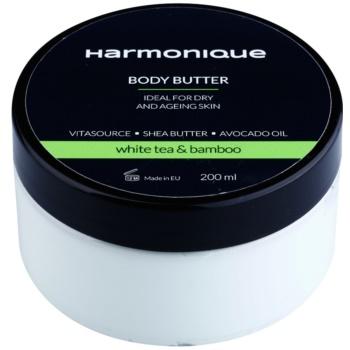 Harmonique White Tea & Bamboo maslo za telo proti staranju kože