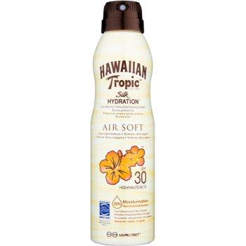Hawaiian Tropic Silk Hydration Air Soft spray pentru bronzat SPF 30