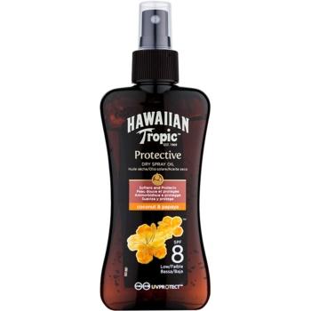 Hawaiian Tropic Protective ulei de protectie impermeabil uscat bronzat SPF 8