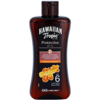 Hawaiian Tropic Protective ochranný suchý olej na opalování SPF 6 voděodolný 200 ml