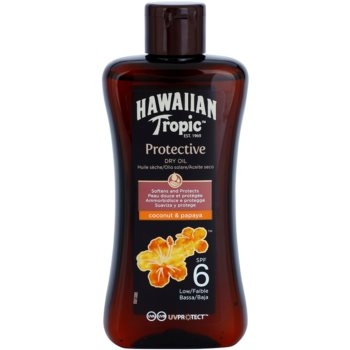 Hawaiian Tropic Protective ulei uscat cu protecție solară SPF 6