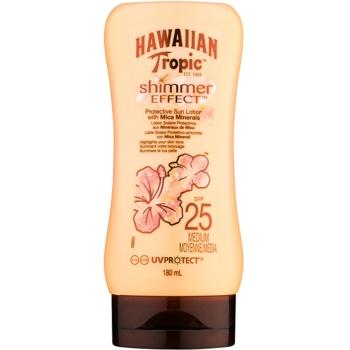Hawaiian Tropic Shimmer Effect loțiune pentru plaja SPF 25