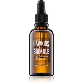 Hawkins & Brimble Natural Grooming Elemi & Ginseng Ulei hranitor pentru barbă si mustață