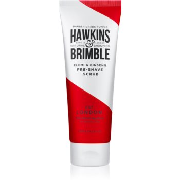 Hawkins & Brimble Natural Grooming Elemi & Ginseng Peeling inainte de barbierit imagine produs