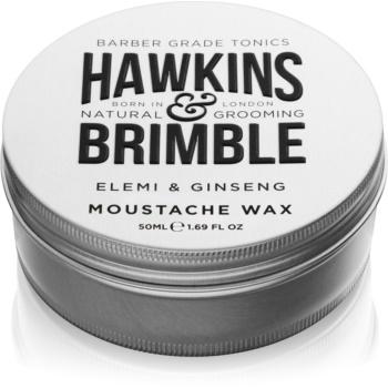 Hawkins & Brimble Natural Grooming Elemi & Ginseng ceară pentru barbă