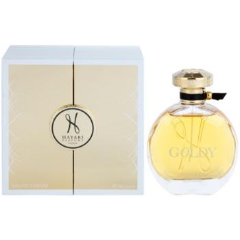 Hayari Parfums Goldy Eau De Parfum pentru femei
