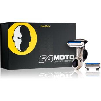 HeadBlade S4 Moto aparat de ras rezerva lama 4 pc