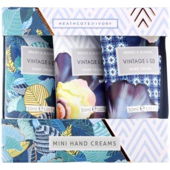 Heathcote & Ivory Vintage & Co Braids & Blooms kosmetická sada VI.