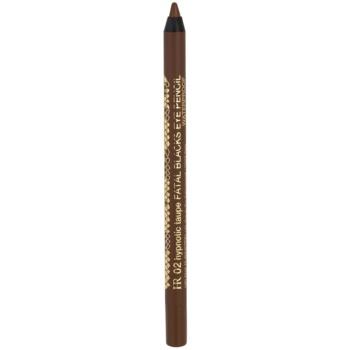 Helena Rubinstein Fatal Blacks voděodolná tužka na oči odstín 02 Hypnotic Taupe 1,2 g