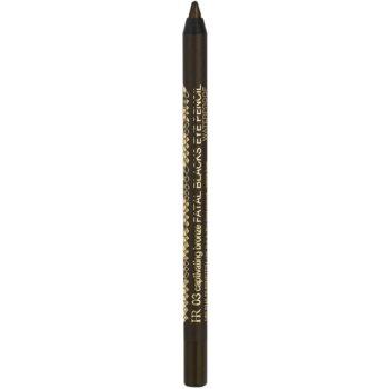 Fotografie Helena Rubinstein Fatal Blacks Eye Pencil voděodolná tužka na oči odstín 03 Captivating Bronze 1,2 g
