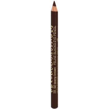 Helena Rubinstein Feline Blacks tužka na oči odstín 02 Tawny Brown 1,1 g