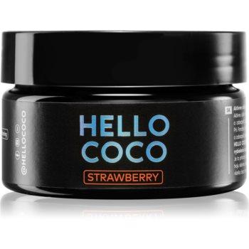 Hello Coco Strawberry cãrbune activ pentru albirea din?ilor imagine produs