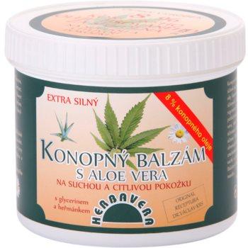Herbavera Body balsam konopny z aloesem