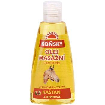 Herbavera Body Pferdesalben-Massageöl und Körperöl 2 in 1