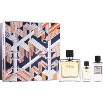 Hermès Terre d'Hermes dárková sada XX. parfém 75 ml + 12,5 ml + voda po holení 40 ml