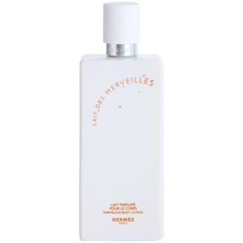 Hermès Eau des Merveilles mleczko do ciała dla kobiet  tester