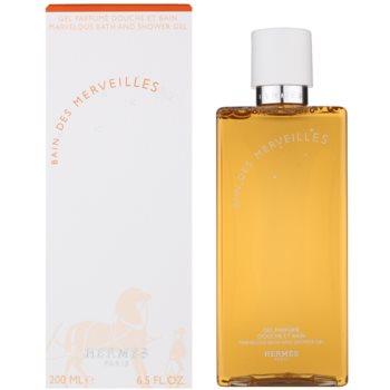 Hermès Eau des Merveilles gel de dus pentru femei 200 ml