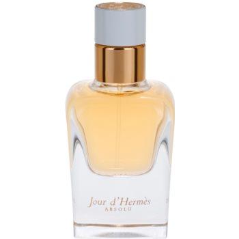 Hermès Jour d'Hermès Absolu Eau de Parfum reincarcabil pentru femei imagine