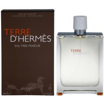Hermès Terre DHermes Eau Tres Fraiche Eau de Toilette pentru barbati 200 ml