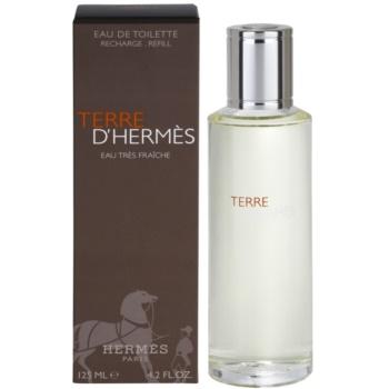 Fotografie Hermés Terre D'Hermes Eau Tres Fraiche toaletní voda pro muže 125 ml náplň