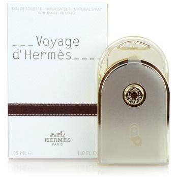 Fotografie Hermès Voyage d'Hermès toaletní voda unisex 35 ml plnitelná