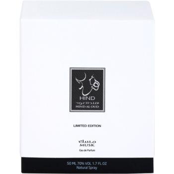 Hind Al Oud Musk Limited Edition Eau de Parfum unisex 4