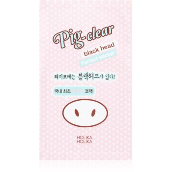 Holika Holika Pig Nose Perfect sticker patch-uri de curatare a prilor de pe nas imagine produs