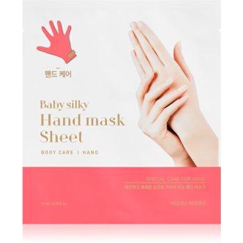 Holika Holika Baby Silky Hand manusi pentru tratament