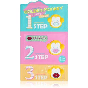 Holika Holika Golden Monkey mascã hidratantã pentru buze imagine produs