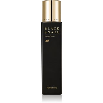 Holika Holika Prime Youth Black Snail lotiune tonica cu efect de hidratare si lifting extract de melc imagine produs