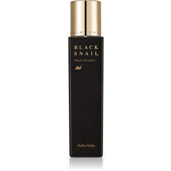 Holika Holika Prime Youth Black Snail emulsie hidratantã restauratoare extract de melc imagine produs