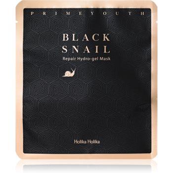 Holika Holika Prime Youth Black Snail mascã intensã cu hidrogel imagine produs