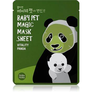 Holika Holika Magic Baby Pet Mascã facialã pentru revitalizare ?i iluminare imagine produs