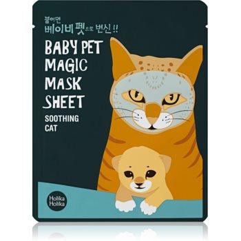 Holika Holika Magic Baby Pet Masca pentru fata cu efect catifelant si revigorant facial poza noua