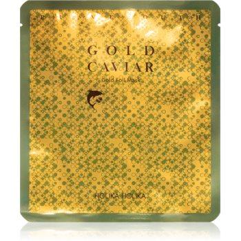 Holika Holika Prime Youth Gold Caviar masca hidratanta cu caviar cu aur imagine produs