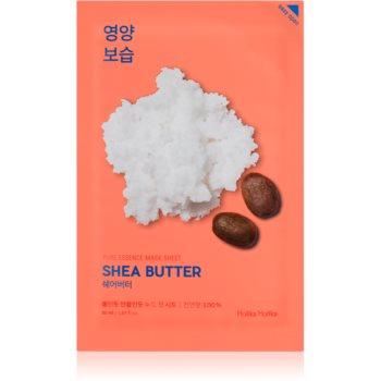 Holika Holika Pure Essence Shea Butter masca de celule cu efect hidrantant si hranitor imagine produs