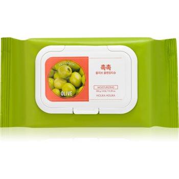 Holika Holika Daily Fresh Olive ?erve?ele demachiante, pentru un machiaj persistent ?i rezistent la apã imagine produs