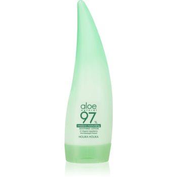 Holika Holika Aloe 97% lapte de corp intens hidratant imagine produs